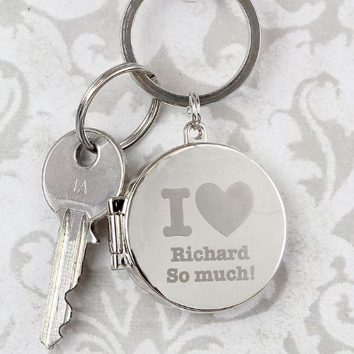I heart Photo Keyring
